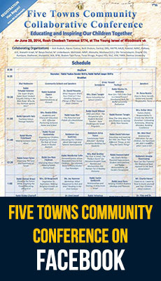 Find the Five Towns Community Conference on Facebook