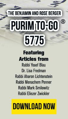 Purim To-Go 5773