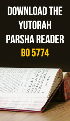 YUTorah reader for Parshat Bo