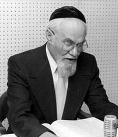 Rabbi Mordechai Pinchas Teitz
